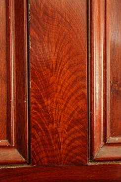 Grained Doors, hand stained with feather