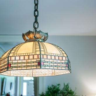 Handel Light over formal dining room
